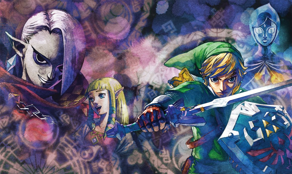 Zelda Link fantasy wallpaper