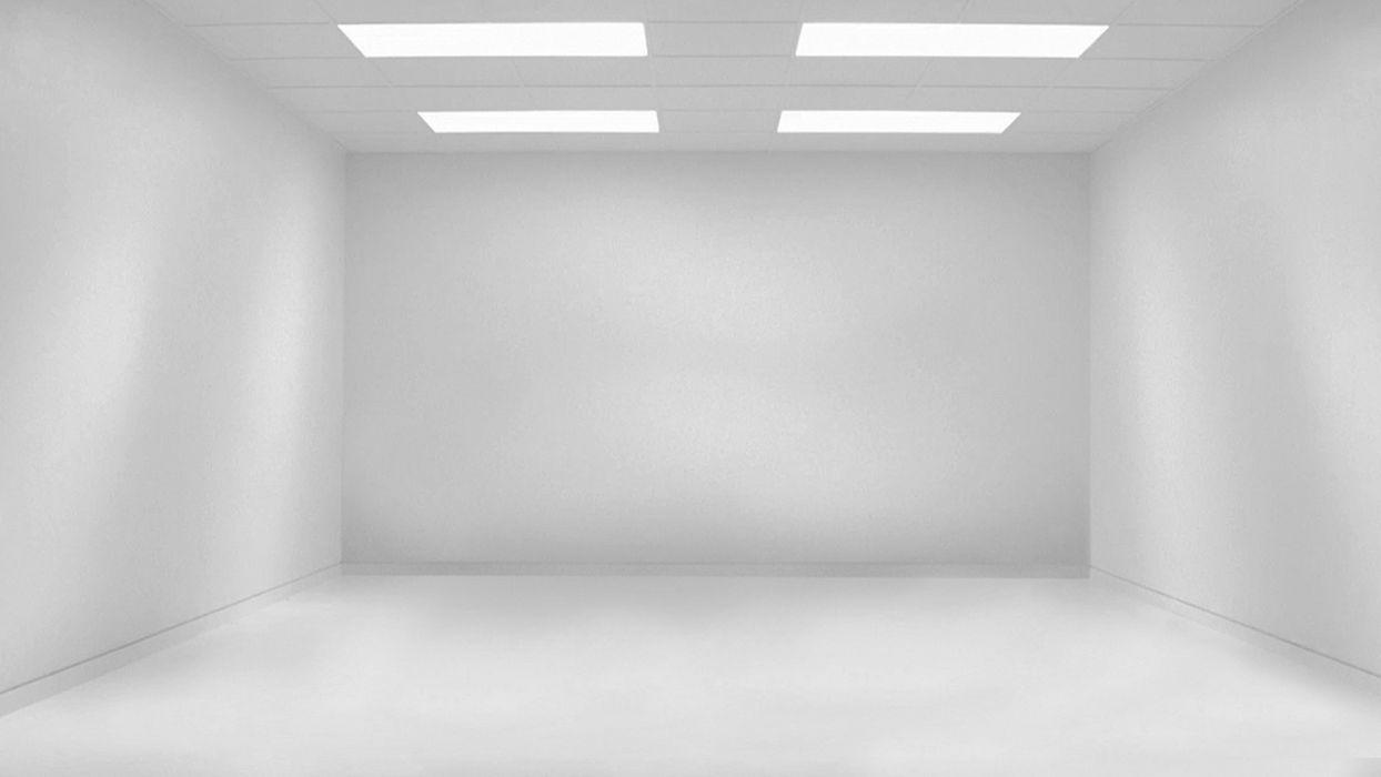 white white room wallpaper