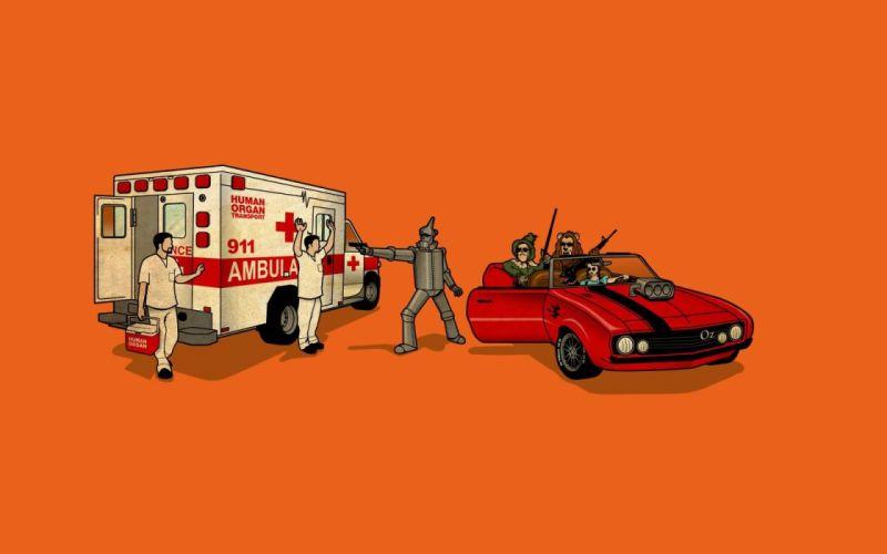 cars humor vehicles wallpaper