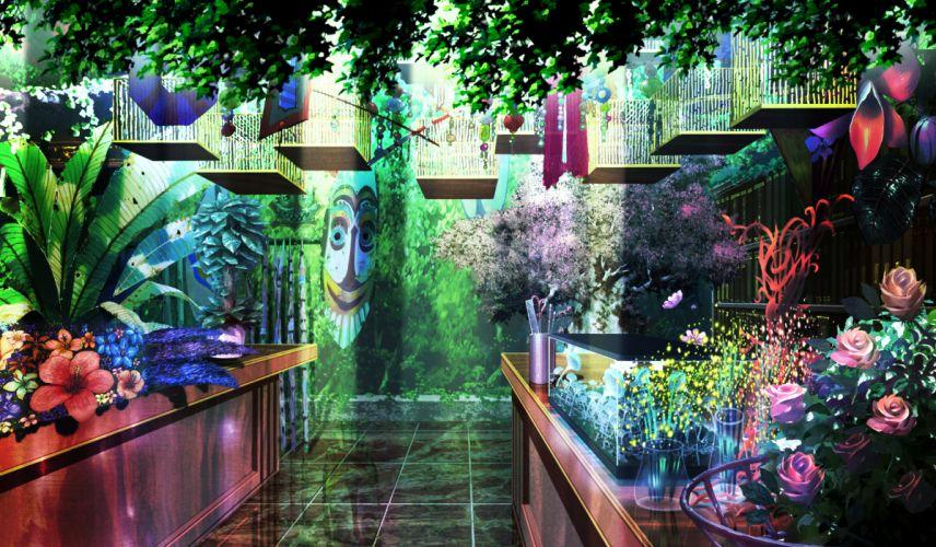 & sora no mukou de sakimasu you ni akatsuki-works flowers game cg scenic wallpaper