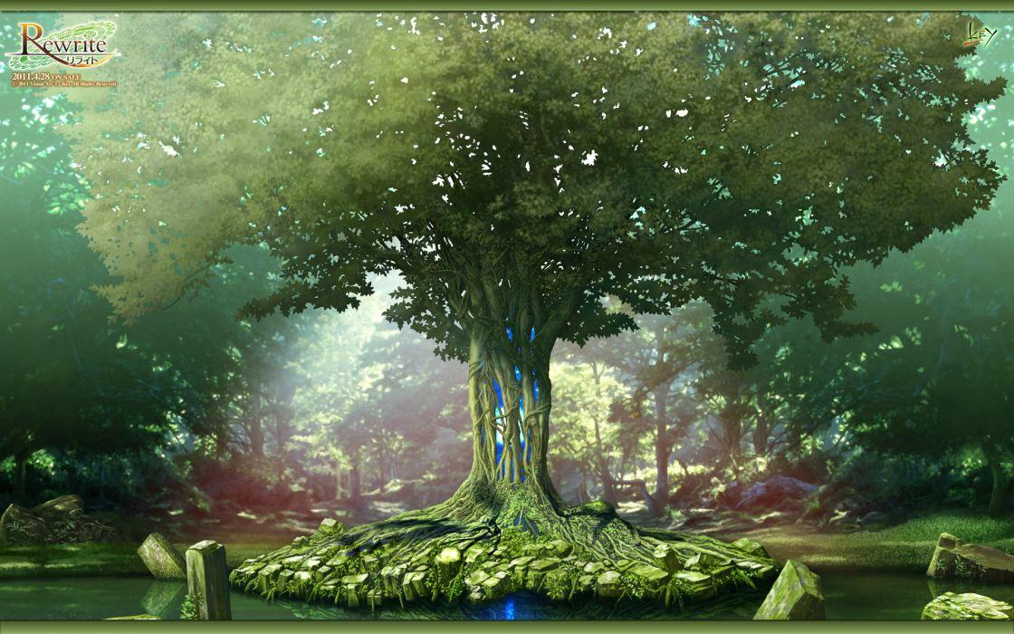 landscape rewrite scenic tree wallpaper