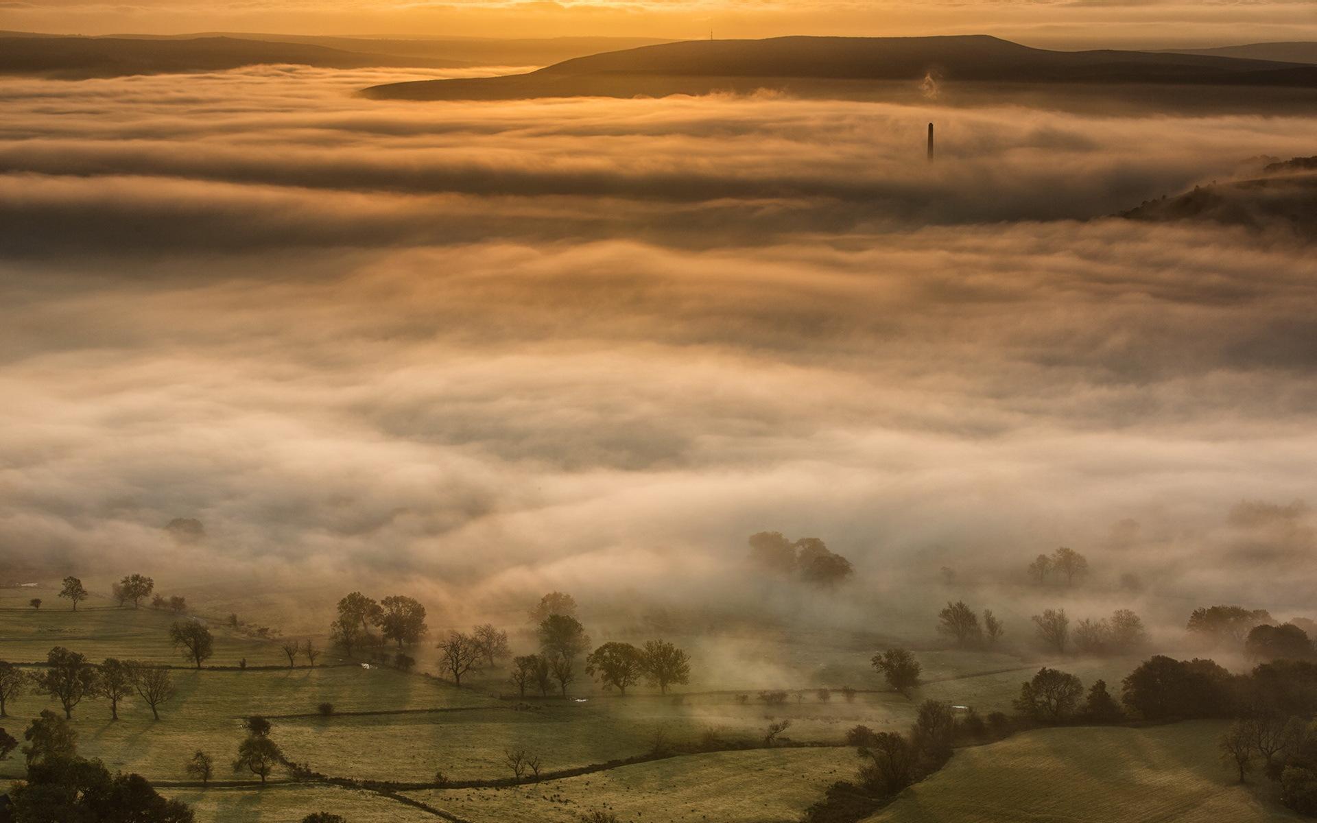 misty fog landscape wallpapers - photo #17