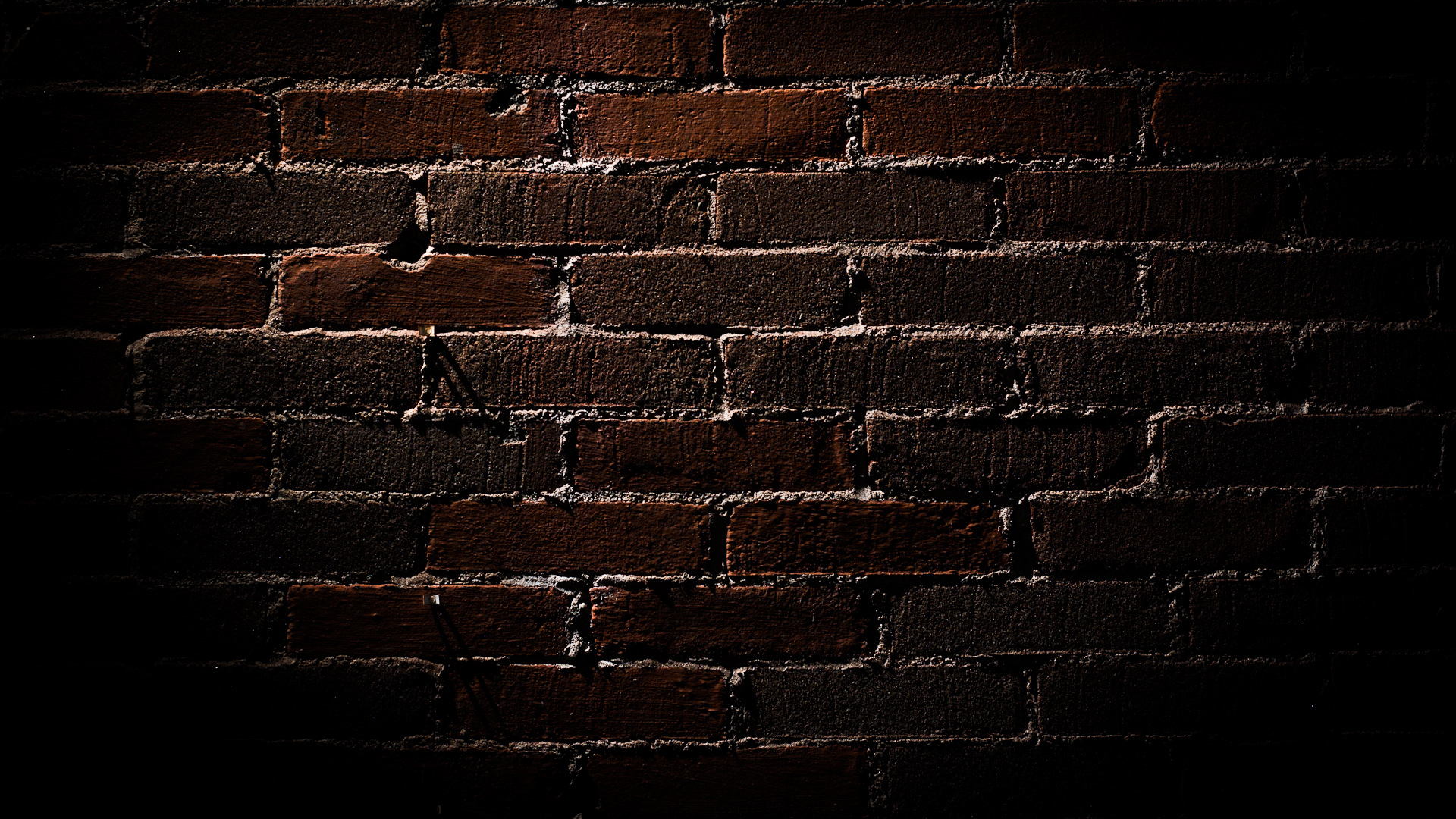 Room Black Brick Wall