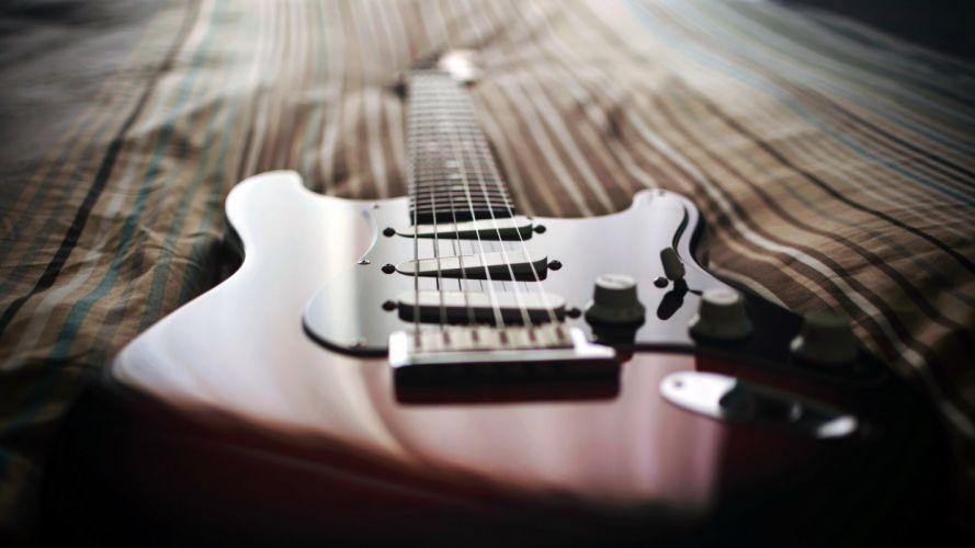 guitar music close-up wallpaper