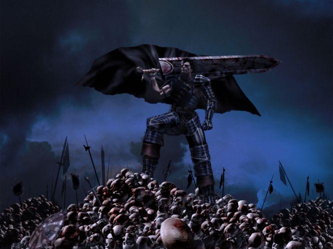 berserk guts dark wallpaper