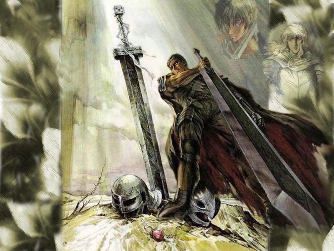berserk guts sword weapon fantasy wallpaper