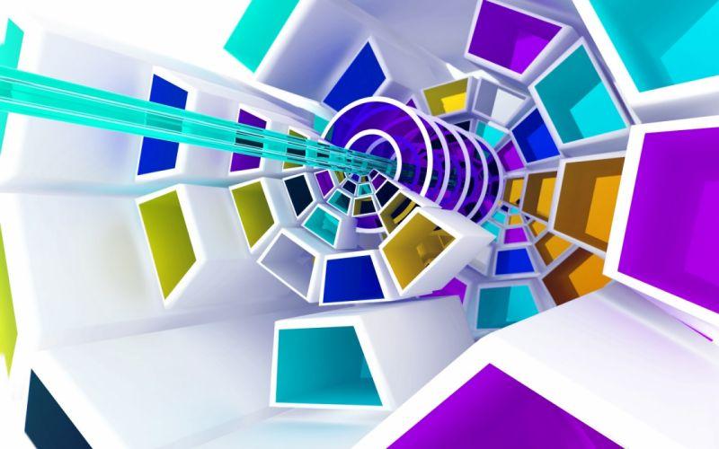 abstraction spiral wallpaper