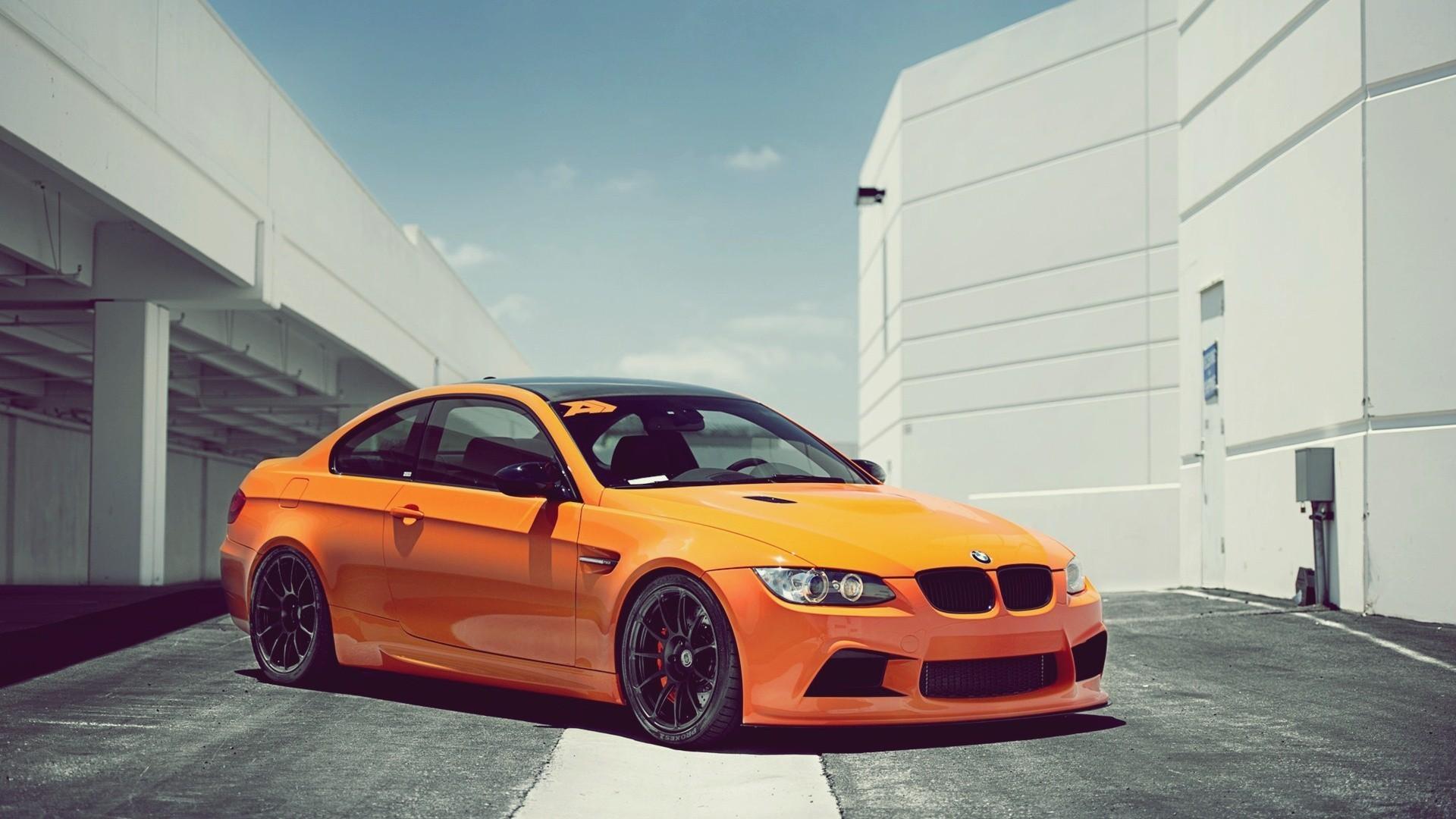 BMW перед оранжевая  № 843815 загрузить