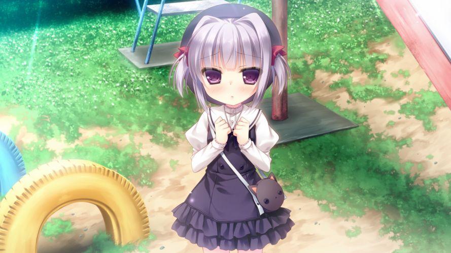 cabbit game cg kimi e okuru sora no hana nakajou an yukie wallpaper
