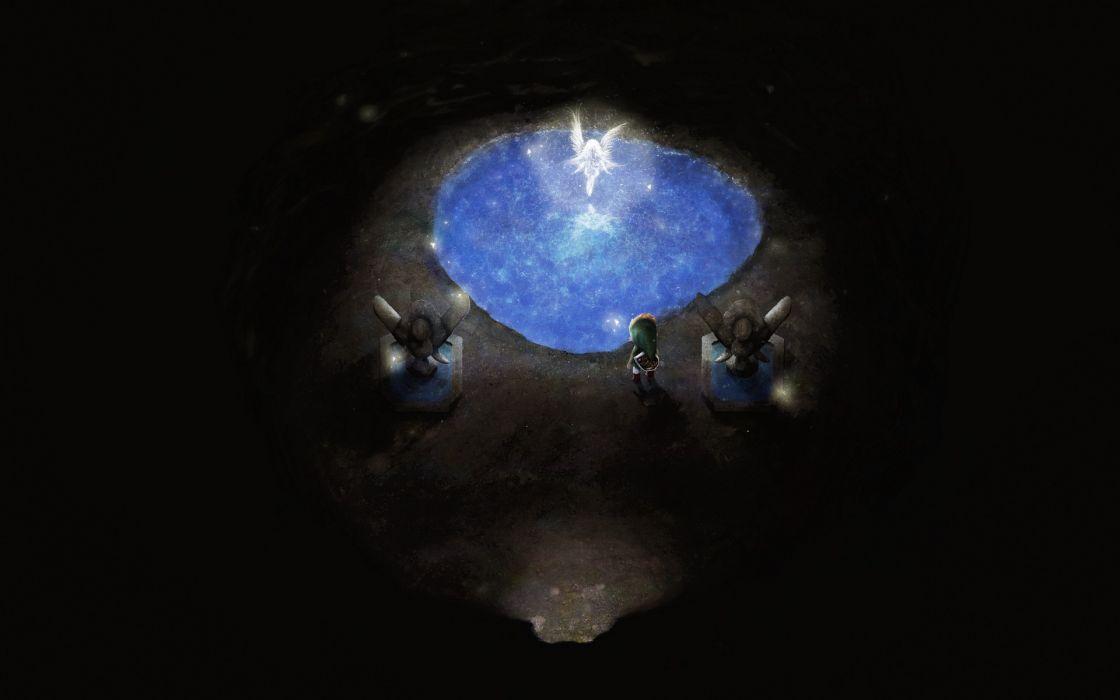 dark link (zelda) nintendo orioto realistic the legend of zelda water wallpaper
