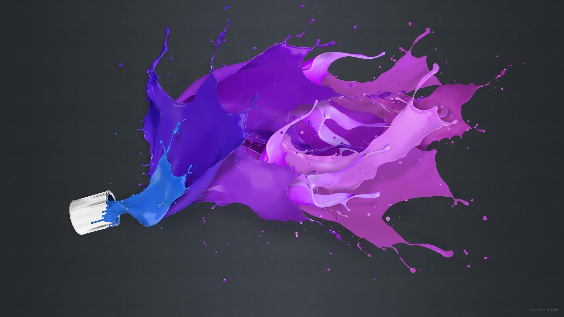 Paint color splash background wallpaper 1920x1080 for Color splash wall art