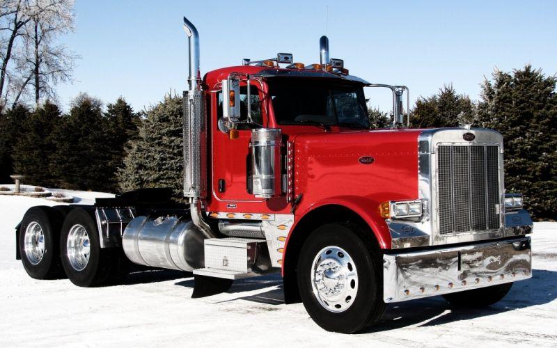 Peterbilt 379 truck truck tractor wallpaper