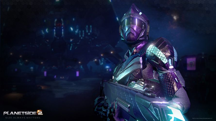 PlanetSide 2 Sony Online Entertainment New conglomerate a new conglomerate weapons armor Sovereignty wallpaper