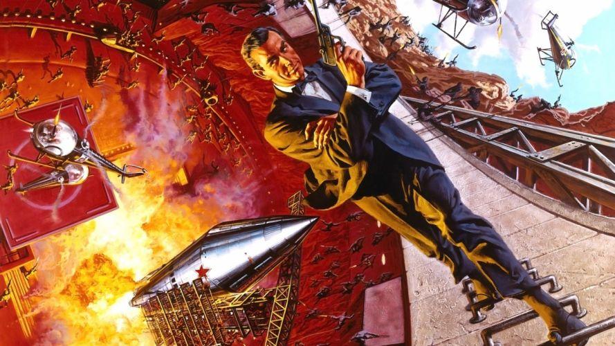 Rocket Man James Bond agent 007 Sean Connery wallpaper