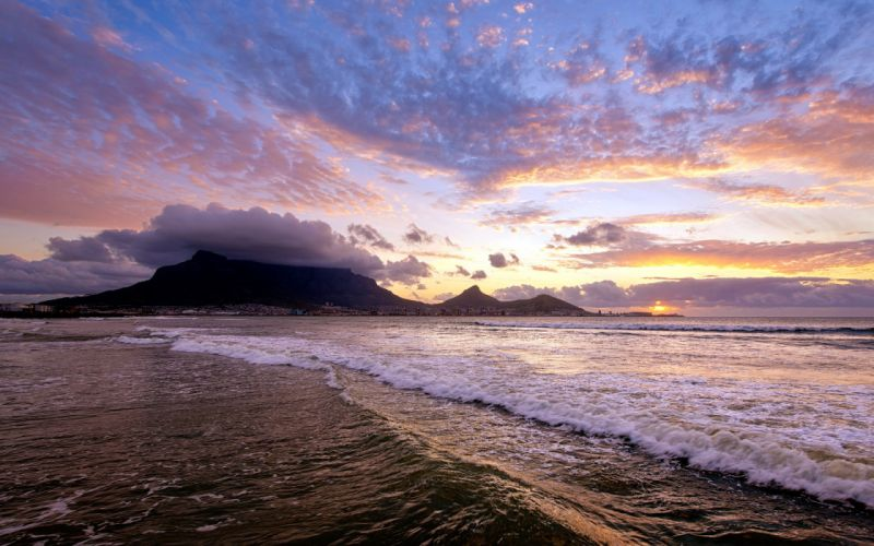sea aeYaeY sunset landscape wallpaper