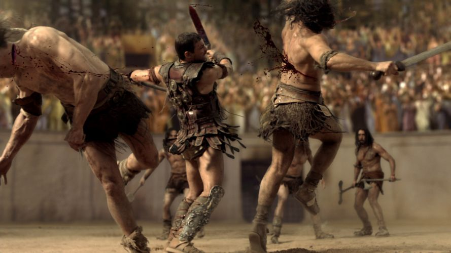 Spartacus Gladiator Blood Andy Whitfield wallpaper