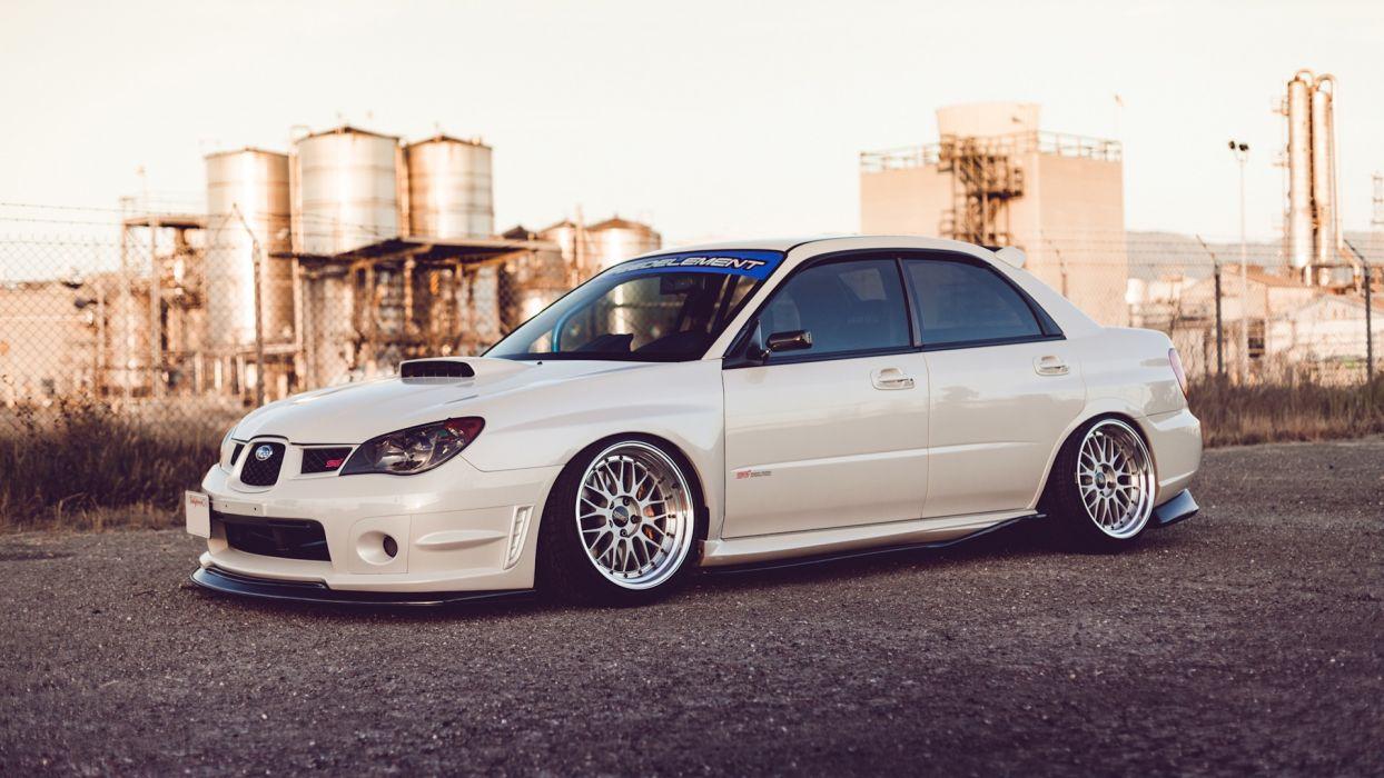 Subaru Wrx Sti Tuning W Wallpaper 1920x1080 76668 Wallpaperup