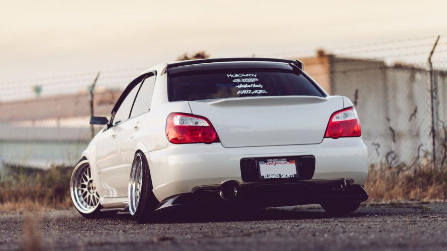 Subaru WRX STI tuning wallpaper