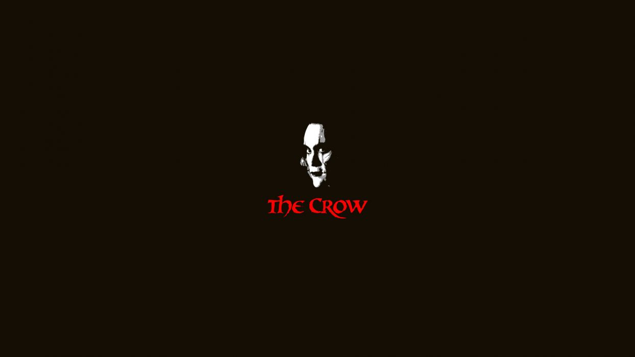 thriller Brandon Lee crows action fantasy movie The crow movies dark wallpaper