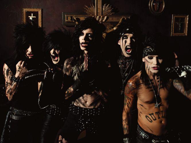 BLACK VEIL BRIDES heavy metal glam hard rock u wallpaper