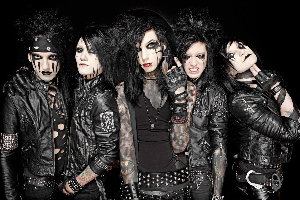 BLACK VEIL BRIDES heavy metal glam hard rock      q wallpaper