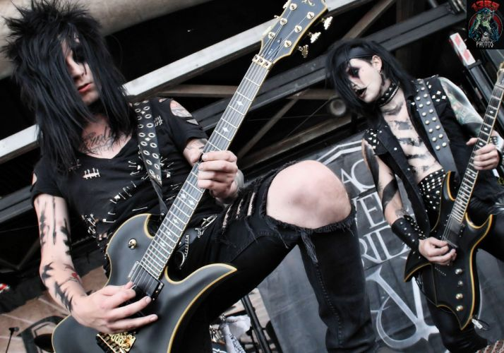 BLACK VEIL BRIDES heavy metal glam hard rock concert guitar guitars z wallpaper