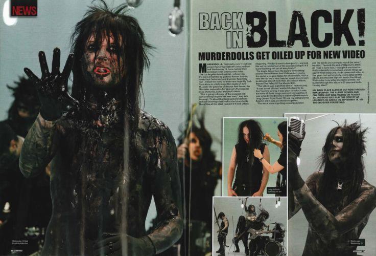 MURDERDOLLS heavy metal glam hard rock e wallpaper