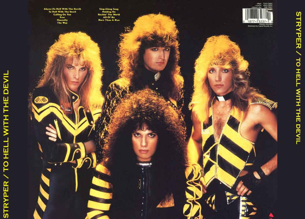 STRYPER hair metal heavy bands hard rock wallpaper