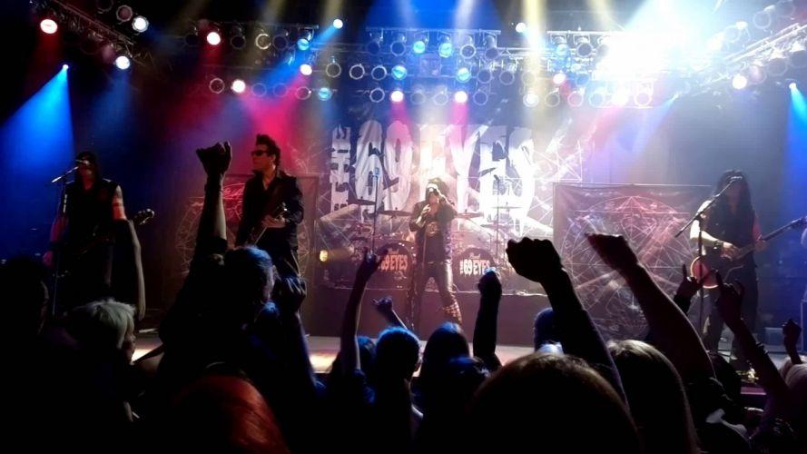 THE 69-EYES EYES heavy metal hard rock glam concert guitar guitars wallpaper
