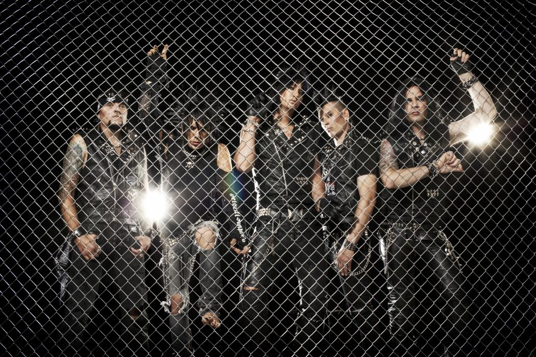 THE 69-EYES EYES heavy metal hard rock glam fence wallpaper