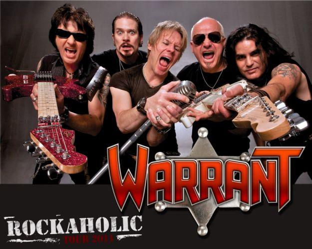 WARRANT hair metal heavy bands hard rock wallpaper