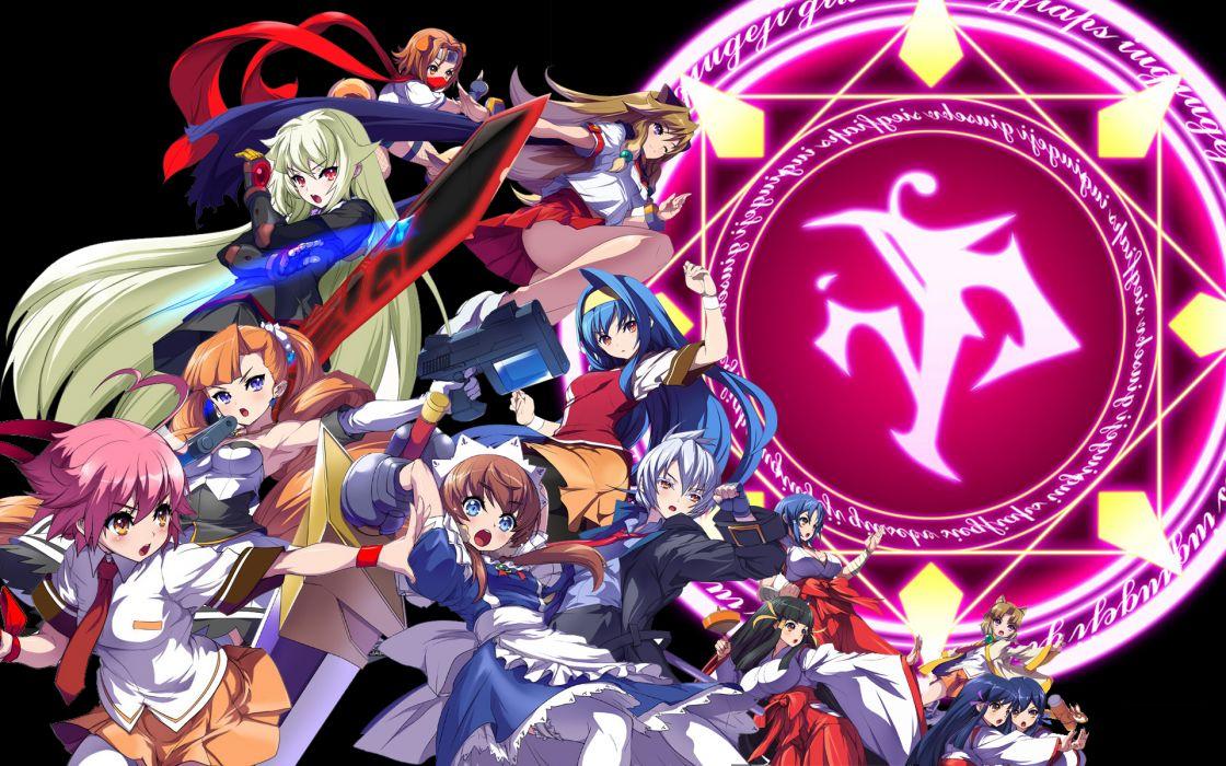 arcana heart game cg tagme weapon wallpaper