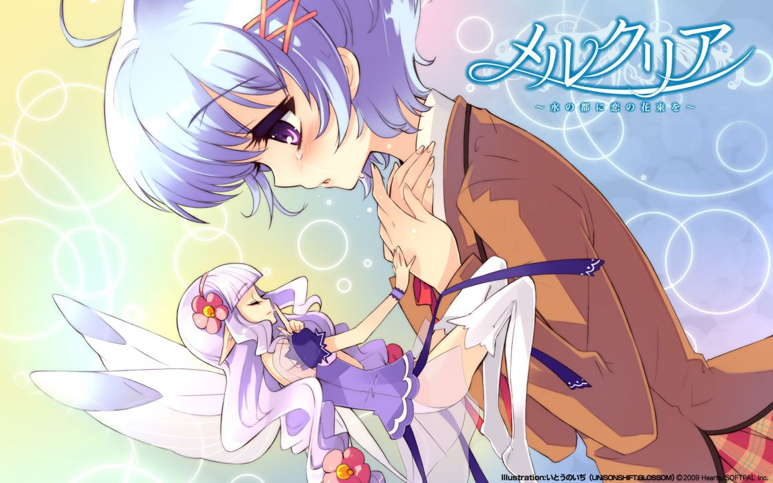 blush fairy itou noiji mercuria tears tiara tsurugi ai wallpaper
