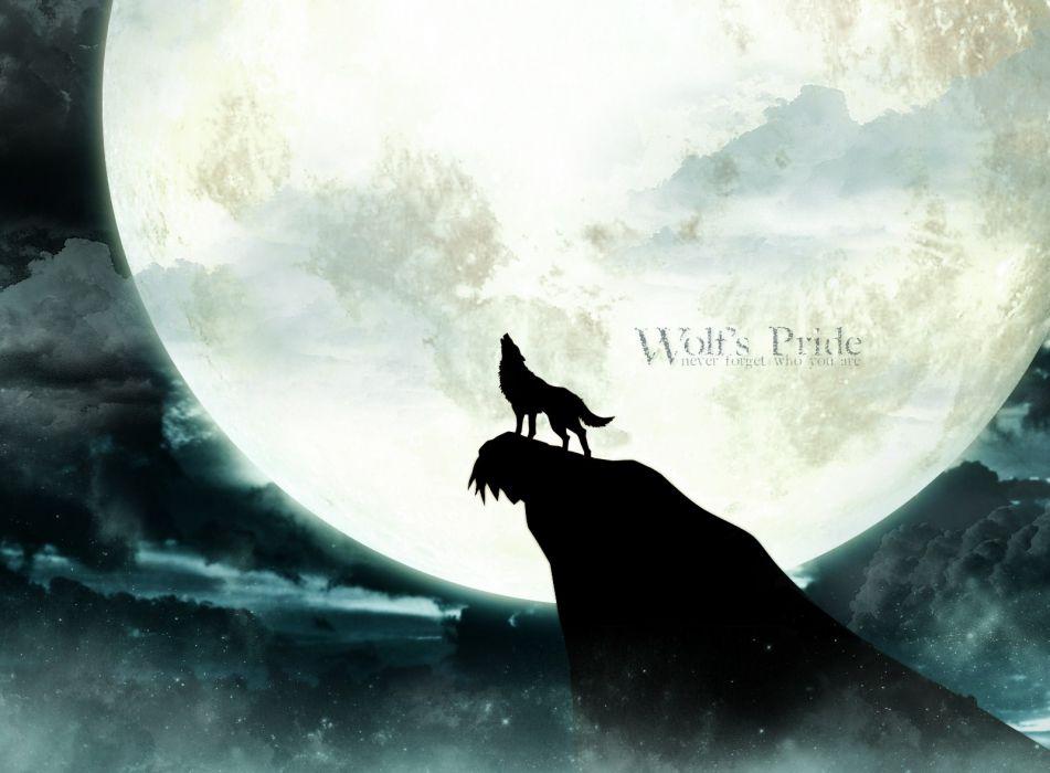 kiba wolfs rain wallpaper