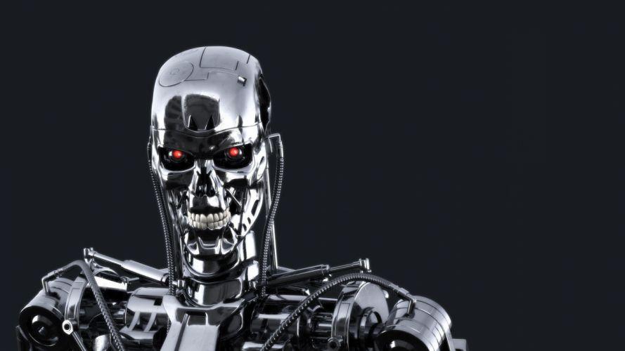 cyborg robot mech mechanical e wallpaper