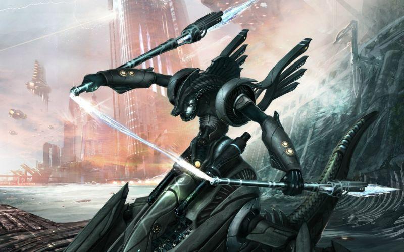 cyborg robot mech mechanical w wallpaper