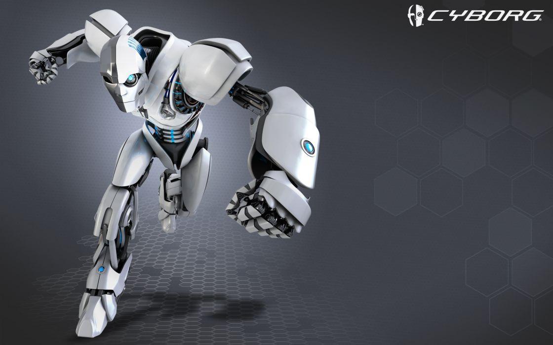 cyborg robot mech mechanical videogames wallpaper
