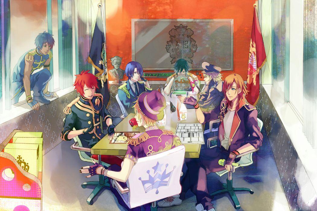aijima seshiru hijirikawa masato ichinose tokiya ittoki otoya jinguuji ren kurusu shou male shinomiya natsuki uta no prince-sama wallpaper