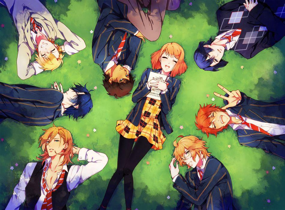 aijima seshiru hijirikawa masato ichinose tokiya ittoki otoya jinguuji ren kurusu shou shinomiya natsuki tagme (artist) uta no prince-sama wallpaper