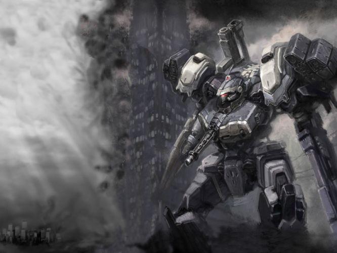 armored core mecha wallpaper