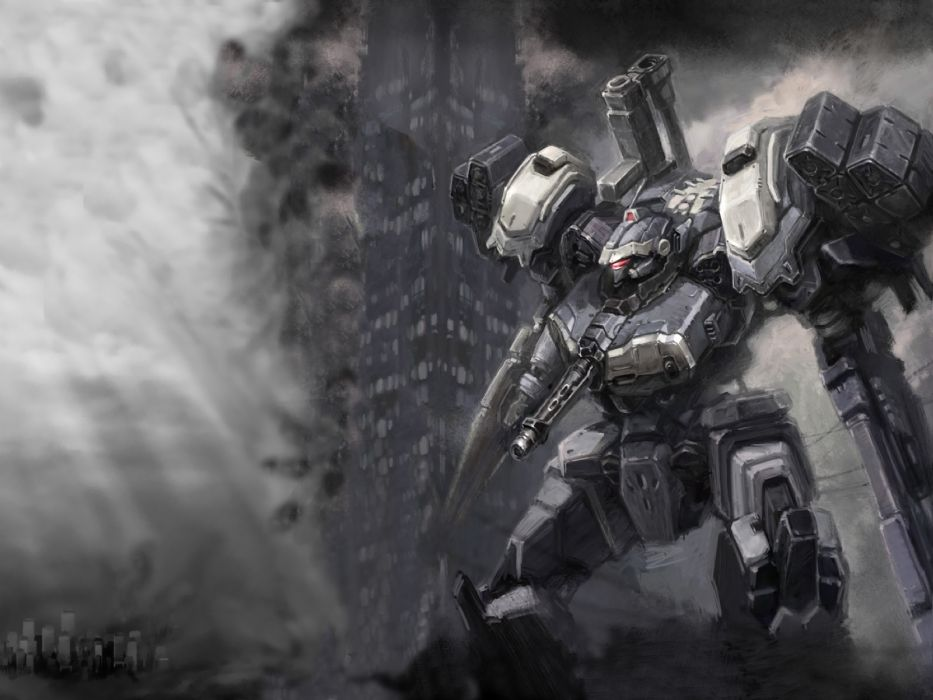 Armored Core Mecha Wallpaper
