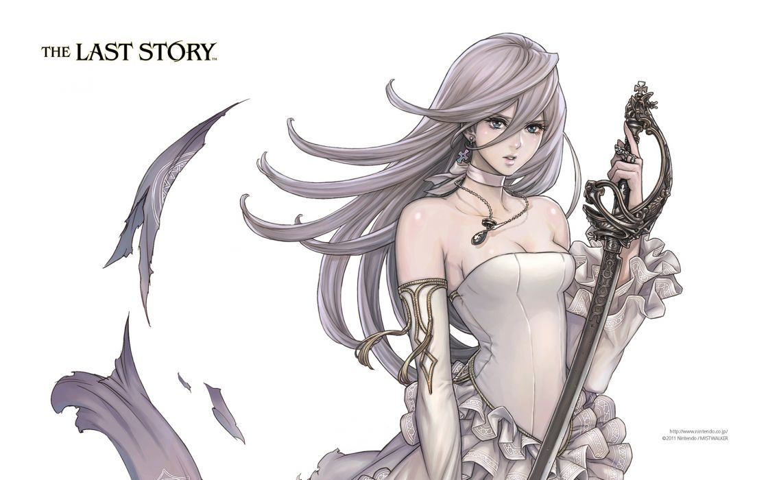 kanan (the last story) sword the last story weapon white wallpaper
