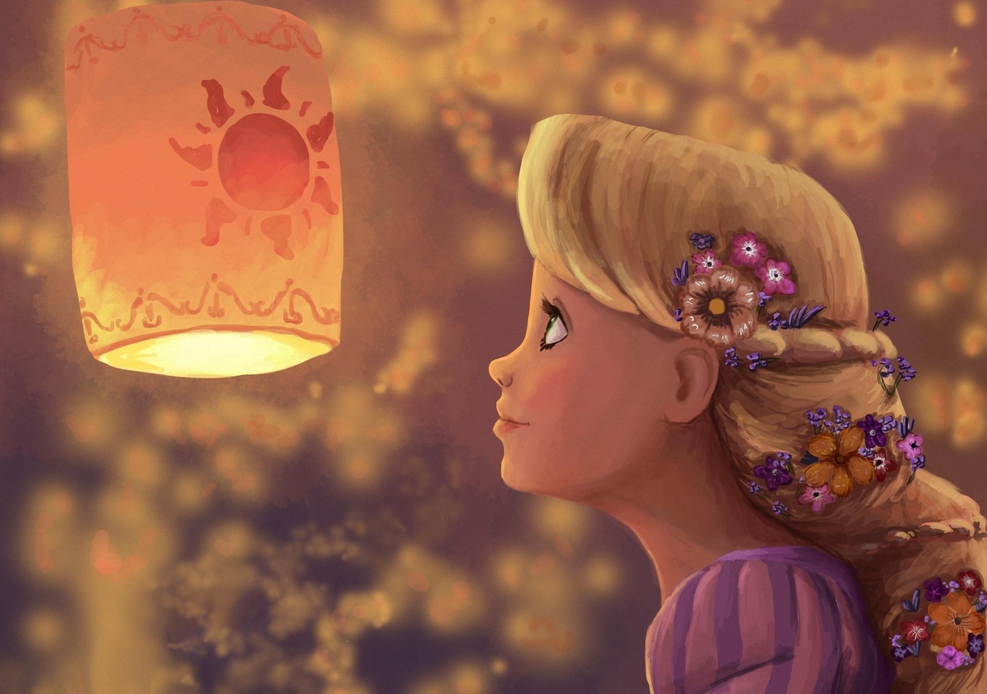 Art Rapunzel Profile gir wallpaper   1920x1350   77644