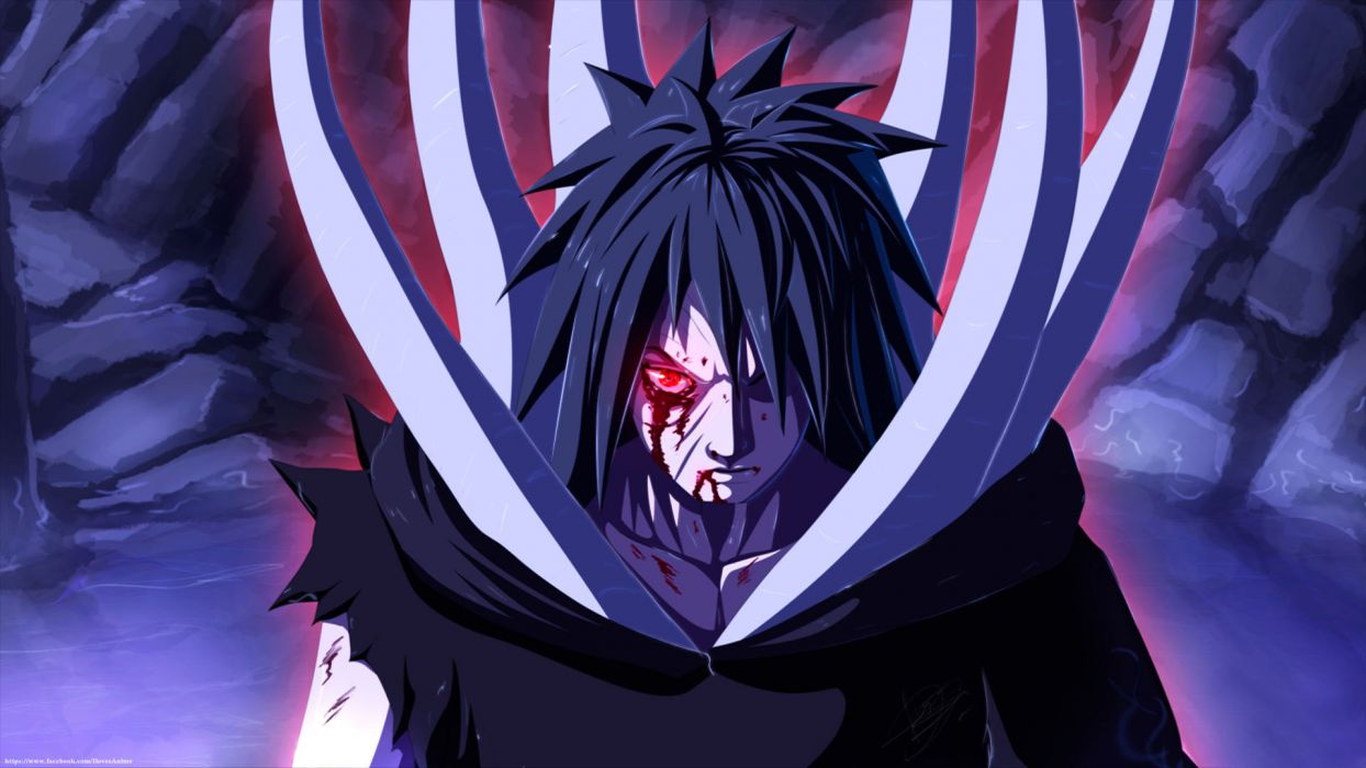 Akatsuki naruto guy Art blood uchiha obito anime wallpaper