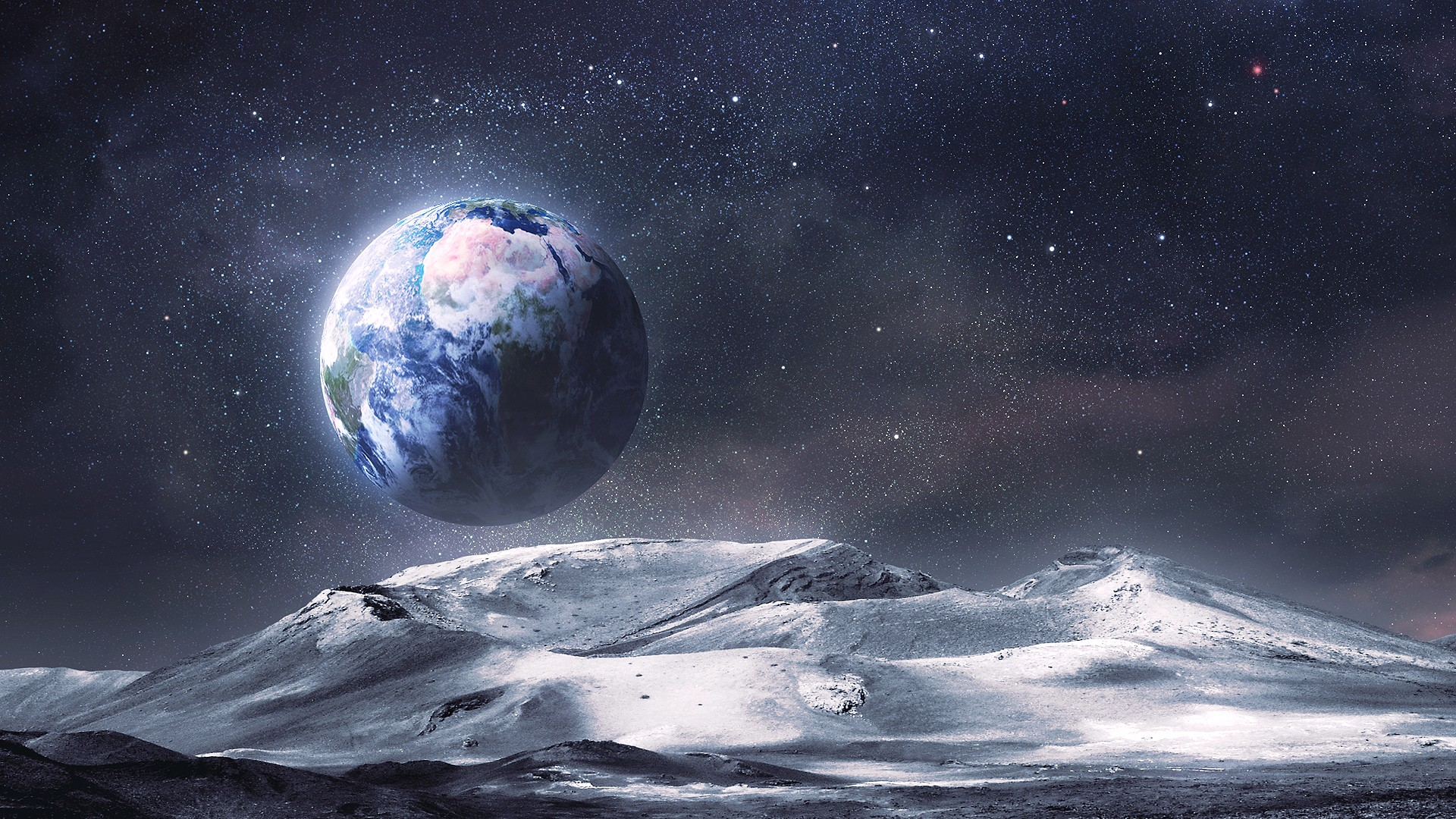 landscapes of planets like earth - photo #22