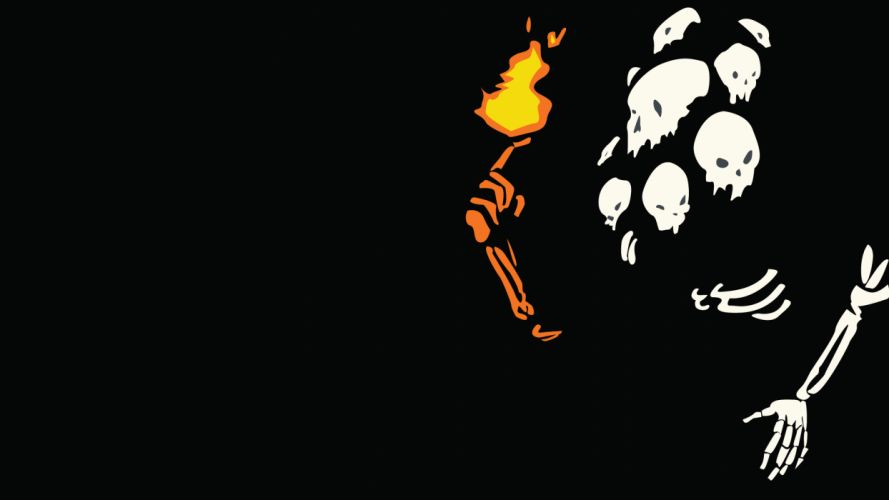 Dark Souls Nito Black wallpaper