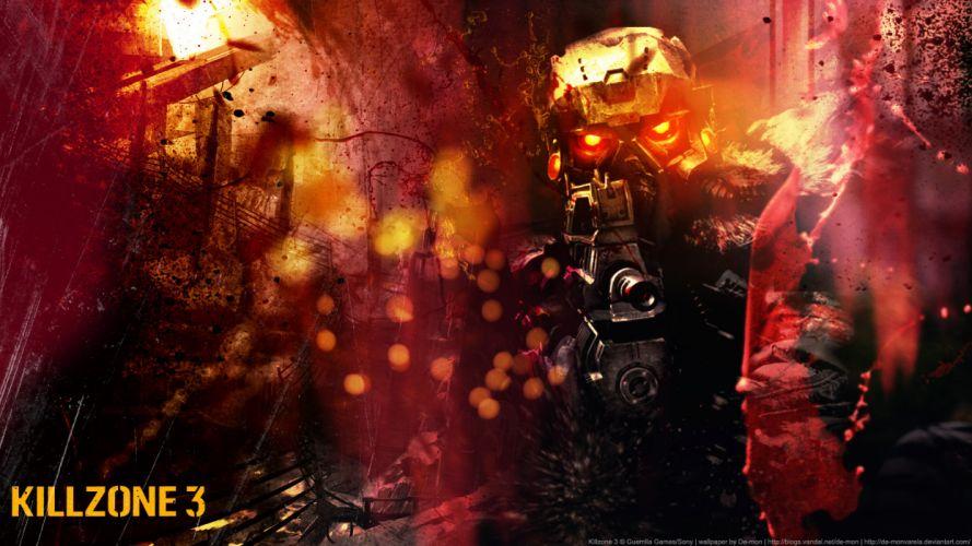 Killzone Warriors Helmet Armor Games w wallpaper