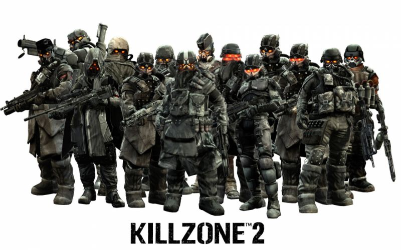 Killzone Warriors Helmet Armor Games wallpaper