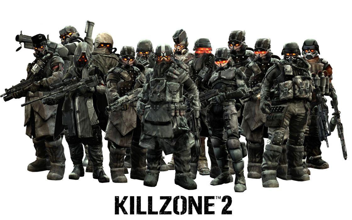Killzone Warriors Helmet Armor Games wallpaper