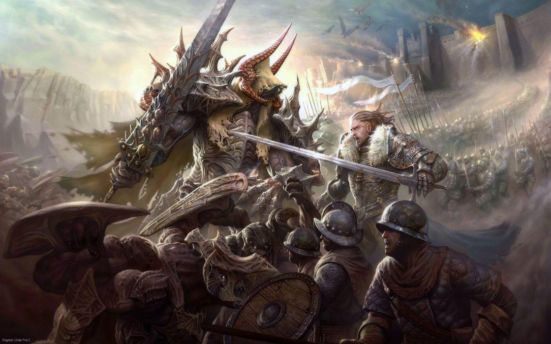 Kingdom Under Fire 2 fantasy      e wallpaper